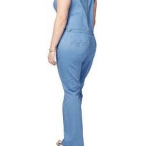Rachel Roy denim jumpsuit